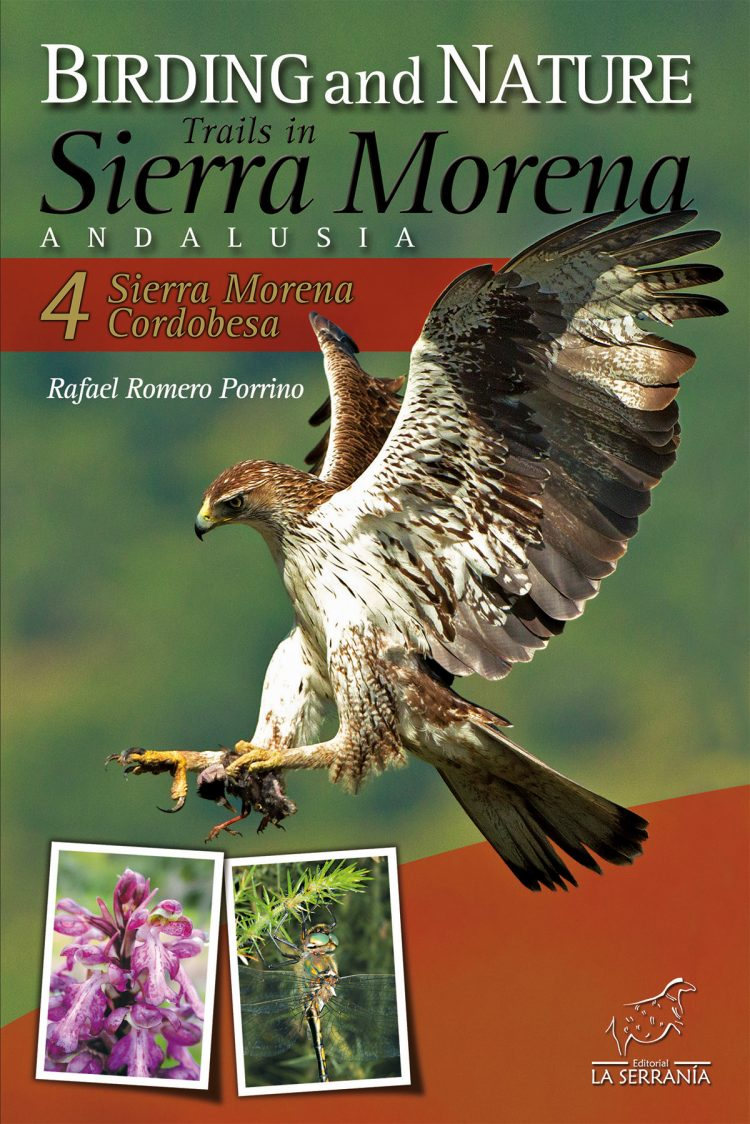 Portada de Birding and Nature Trails in Sierra Morena. Andalusia: 4. Sierra Morena Cordobesa