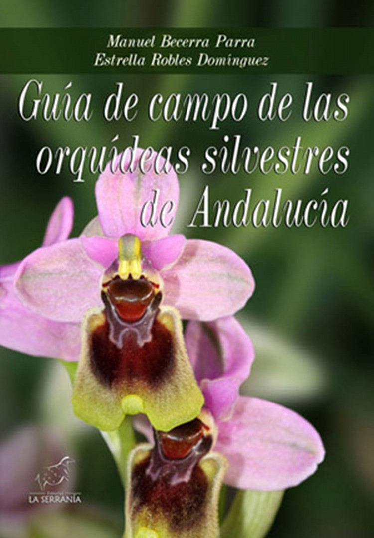 Portada de Guía de campo de las orquídeas silvestres de Andalucía