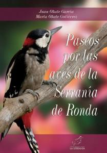 Portada: Paseos por las aves de la Serranía de Ronda