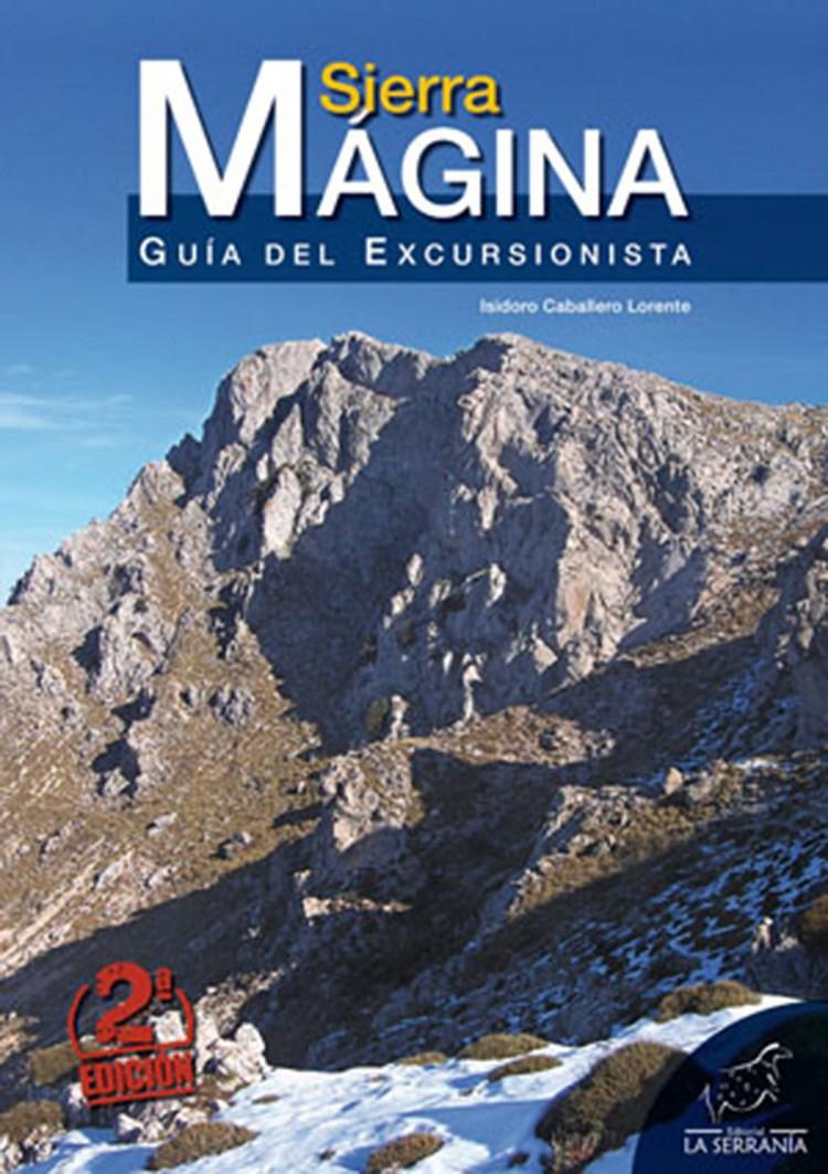 Portada de Sierra Mágina. Guía del excursionista