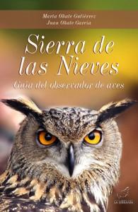 Portada: Sierra de las Nieves. Guía del observador de aves