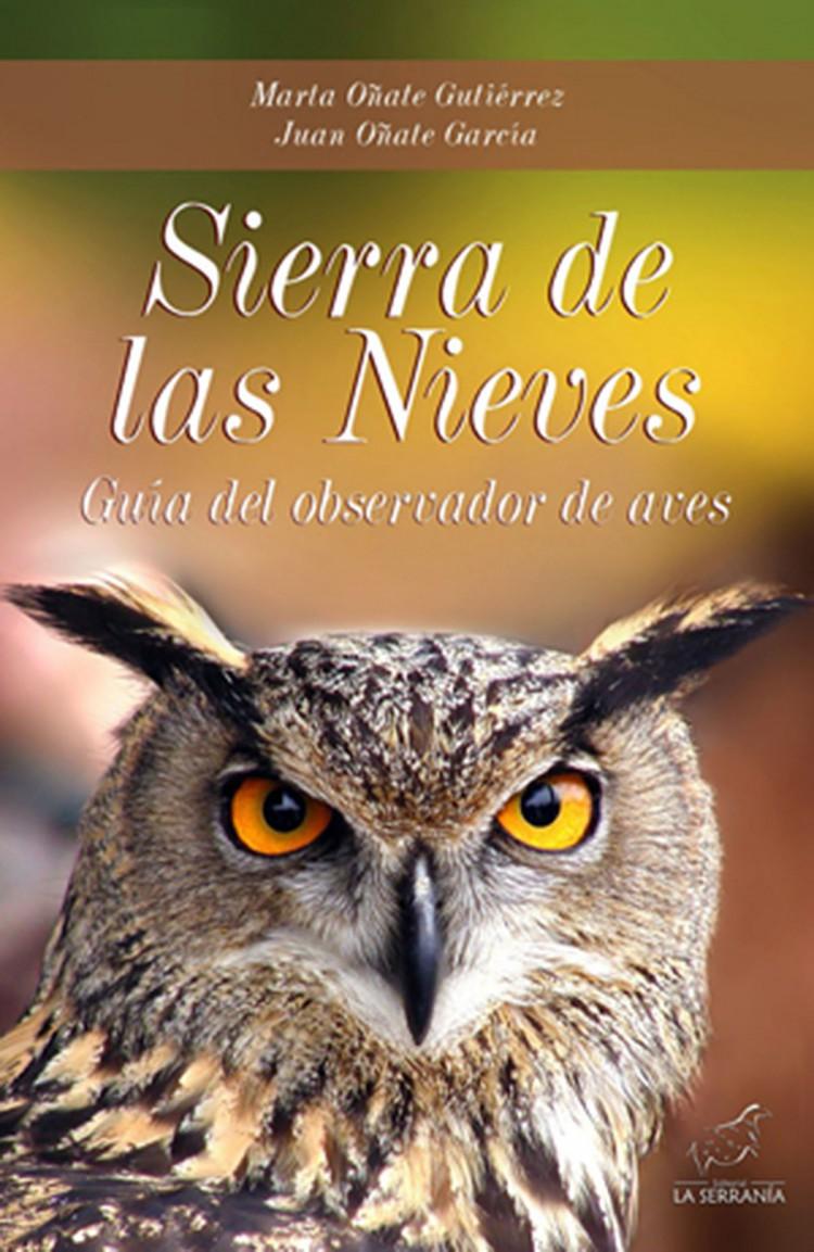 Portada de Sierra de las Nieves. Guía del observador de aves