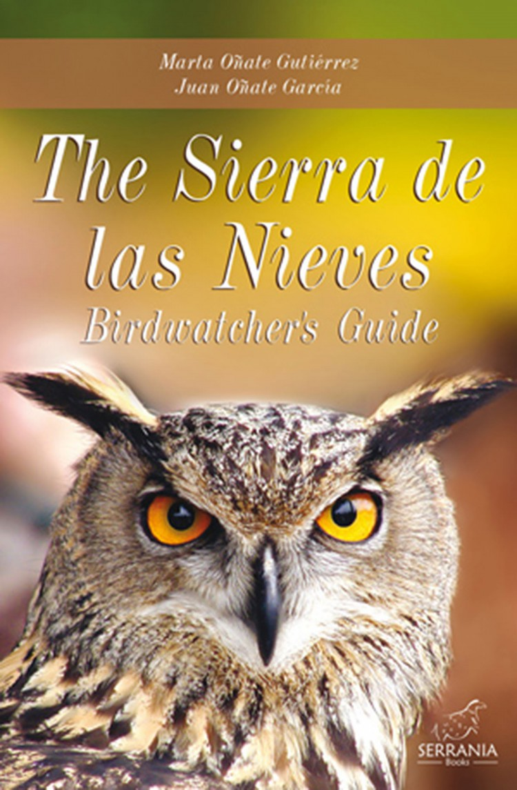 Portada de The Sierra de las Nieves. Birdwatcher´s Guide