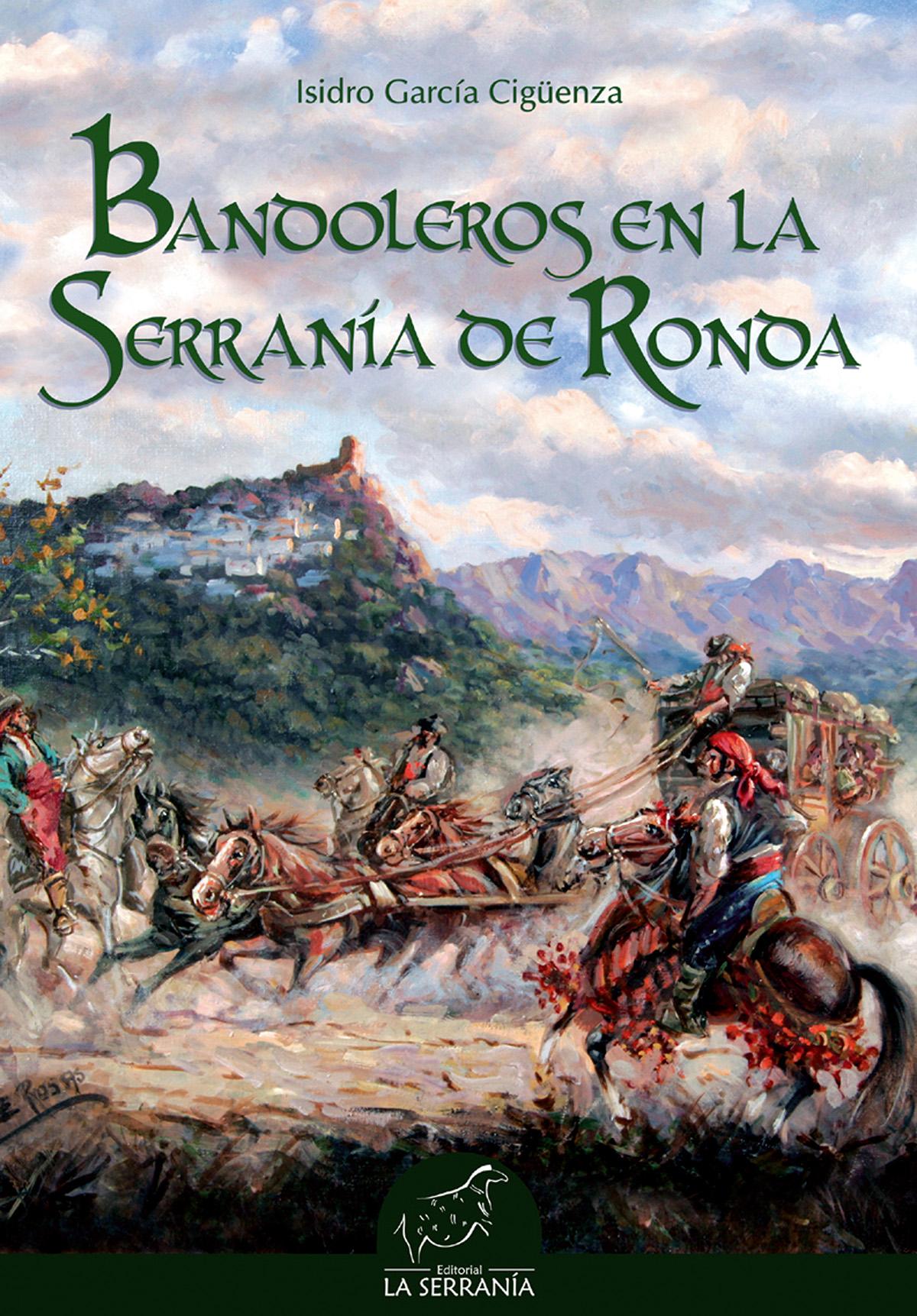 Portada de Bandoleros en la Serranía de Ronda