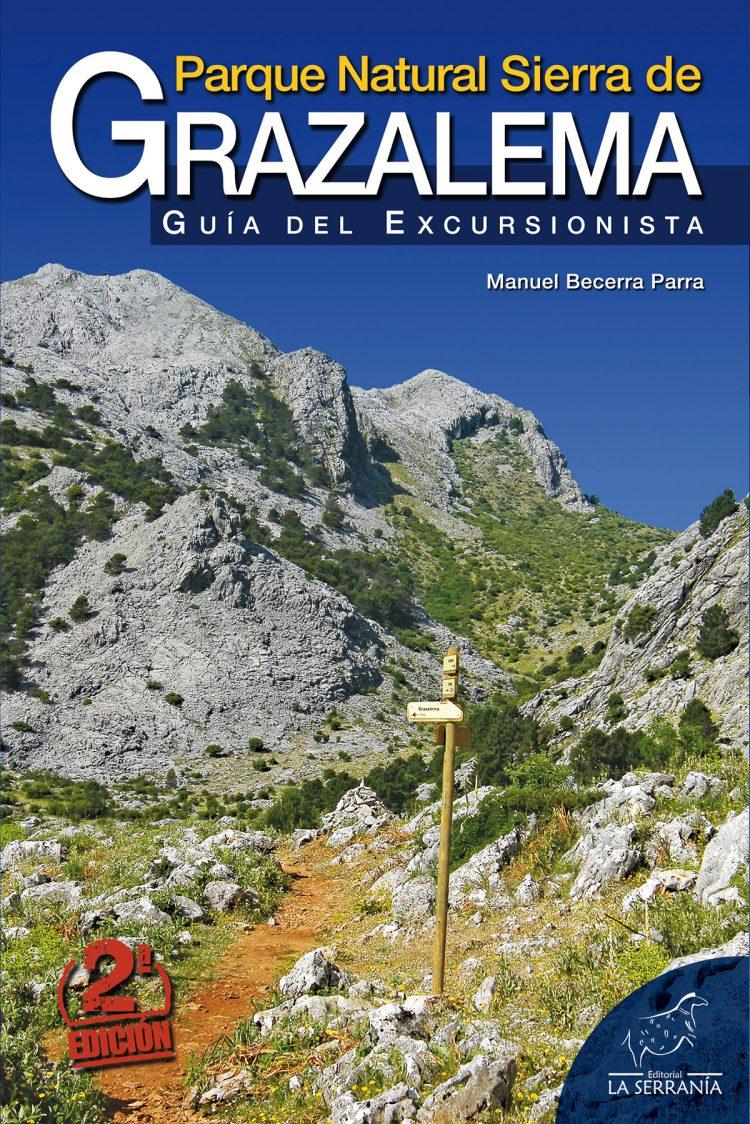 Portada de Parque Natural Sierra de Grazalema. Guía del excursionista (2ª ed.)