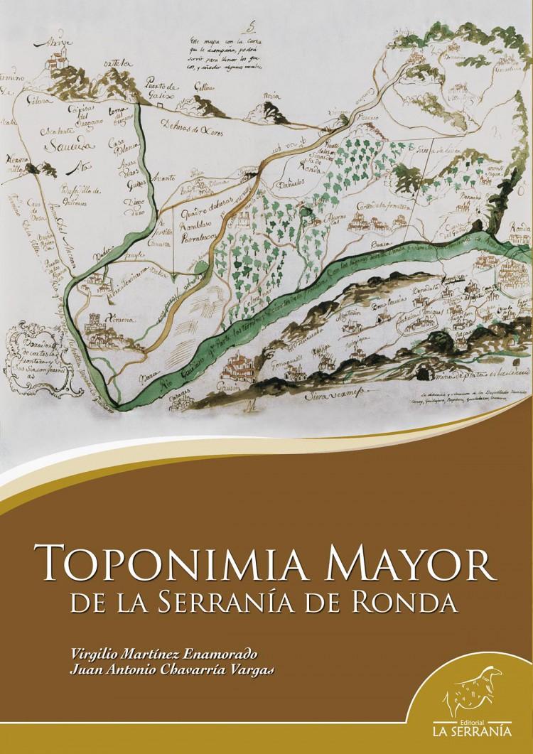 Portada de Toponimia mayor de la Serranía de Ronda
