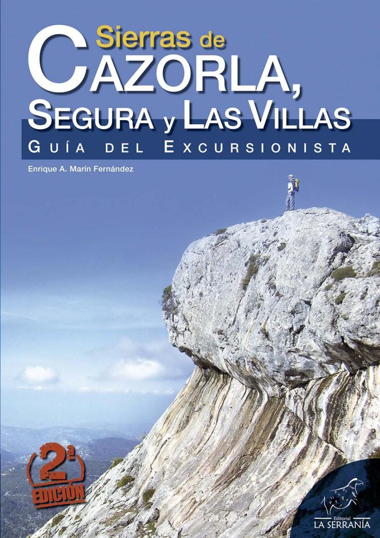 Portada de Sierras de Cazorla, Segura y Las Villas. Guía del excursionista