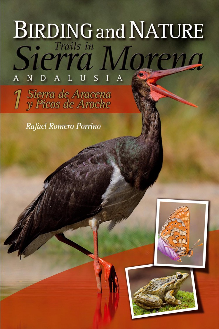 Portada de Birding and Nature Trails in Sierra Morena. Andalusia. 1. Sierra de Aracena y Picos de Aroche