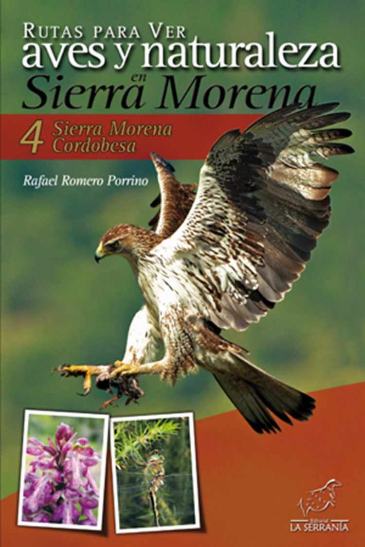 Portada de Rutas para ver aves y naturaleza en Sierra Morena. 4: Sierra Morena Cordobesa