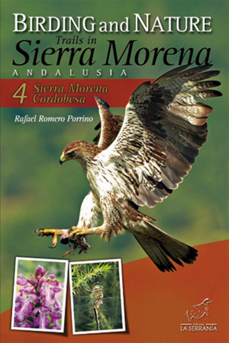 Portada de Birding and Nature Trails in Sierra Morena. Andalusia: 4. Sierra Morena Cordobesa