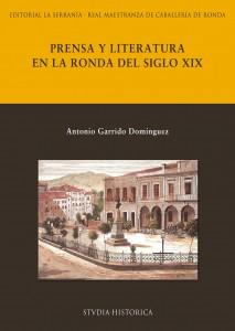Portada de Prensa y literatura en la Ronda del siglo XIX