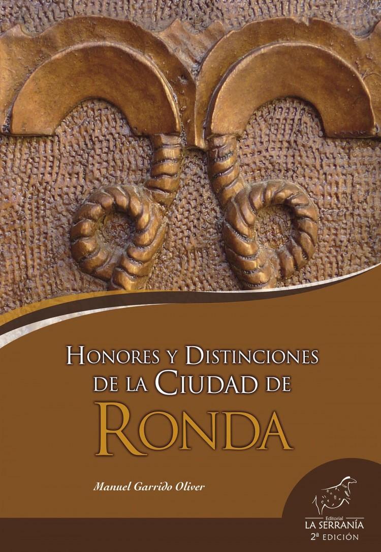 Portada de Honores y distinciones de la ciudad de Ronda (2ª ed.)