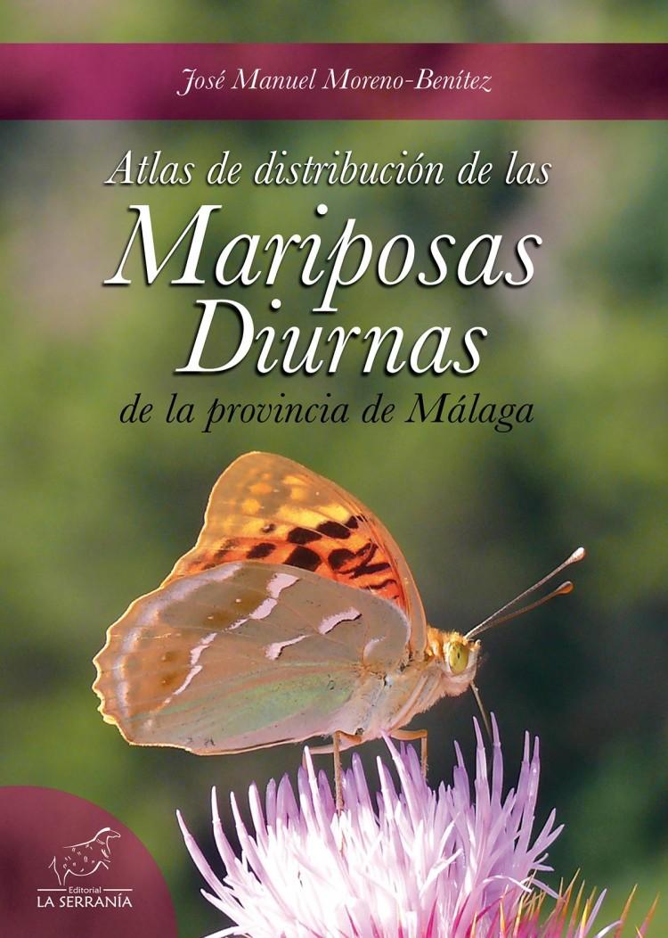 Portada de Atlas de distribución de las mariposas diurnas de la provincia de Málaga