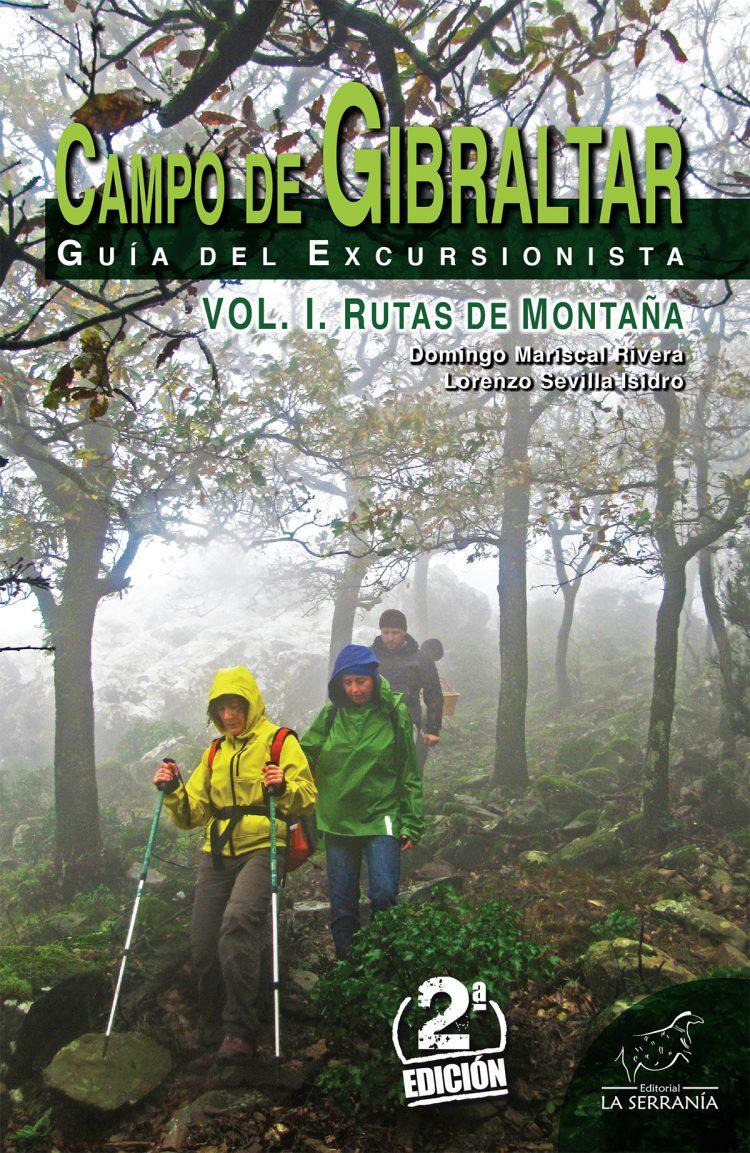 Portada de Campo de Gibraltar. Guía del excursionista. Vol. I: Rutas de montaña (2ª ed.)