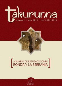 Takurunna nº 1. Anuario de Estudios sobre Ronda y la Serranía