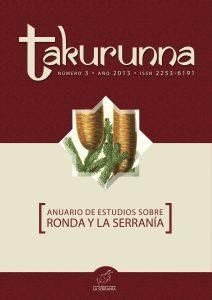 Takurunna nº 3. Anuario de Estudios sobre Ronda y la Serranía