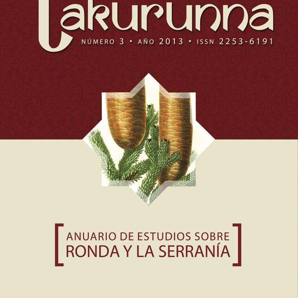 Takurunna nº 3. Anuario de Estudios de Ronda y la Serranía