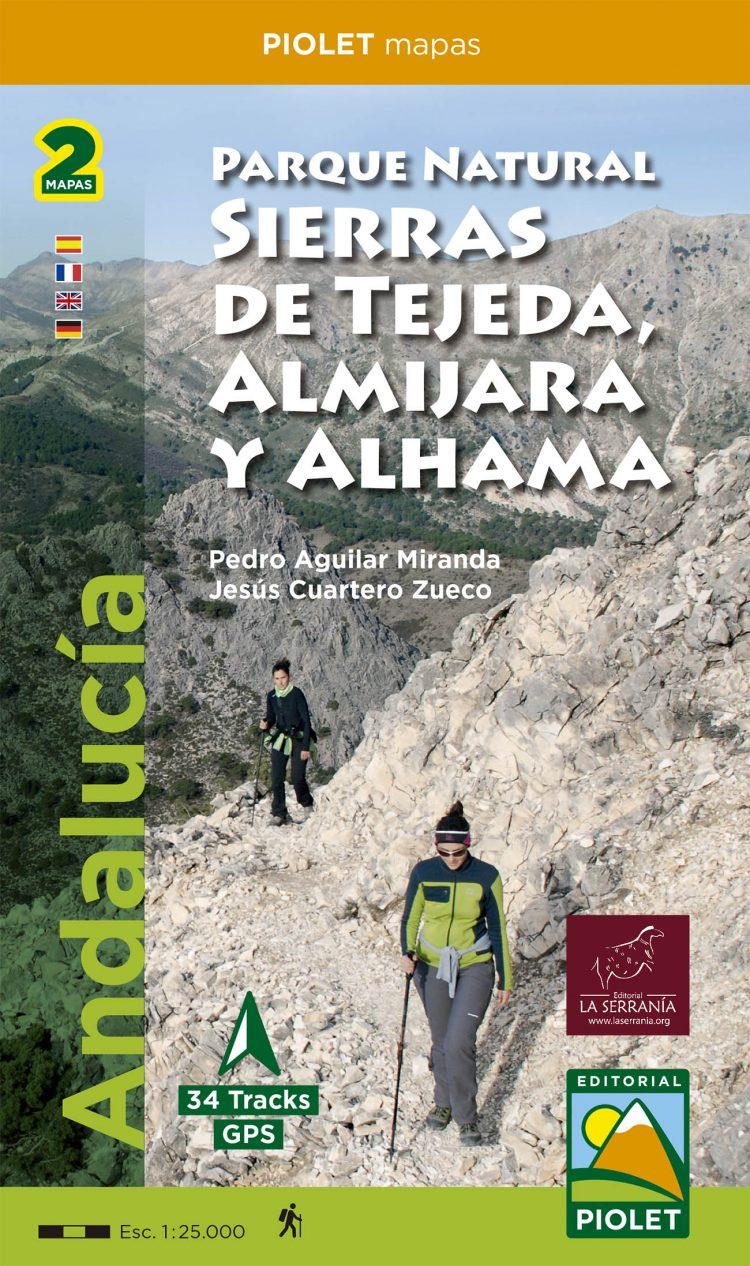 Portada de Parque Natural Sierras de Tejeda, Amijara y Alhama (2 mapas)