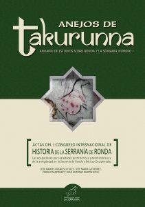 Portada: Actas del I Congreso Internacional de Historia de la Serranía de Ronda