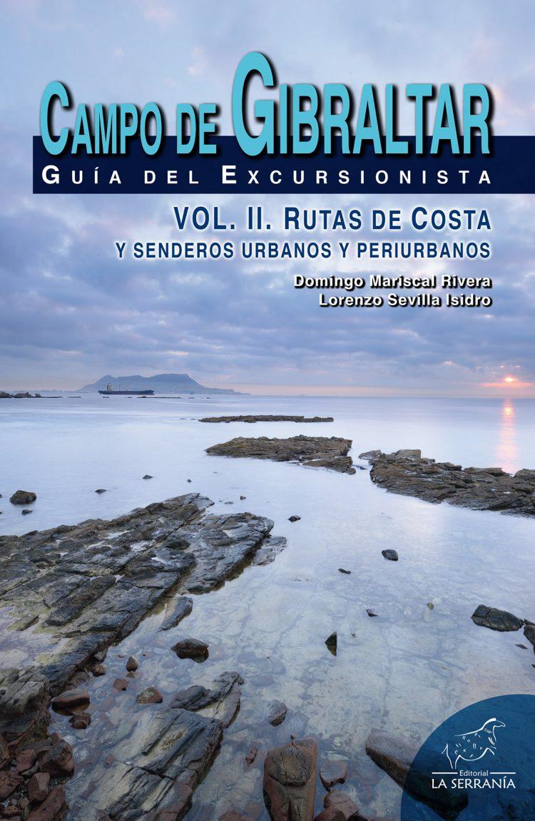 Portada de Campo de Gibraltar. Guía del excursionista (vol. II). Rutas de costa y senderos urbanos y periurbanos