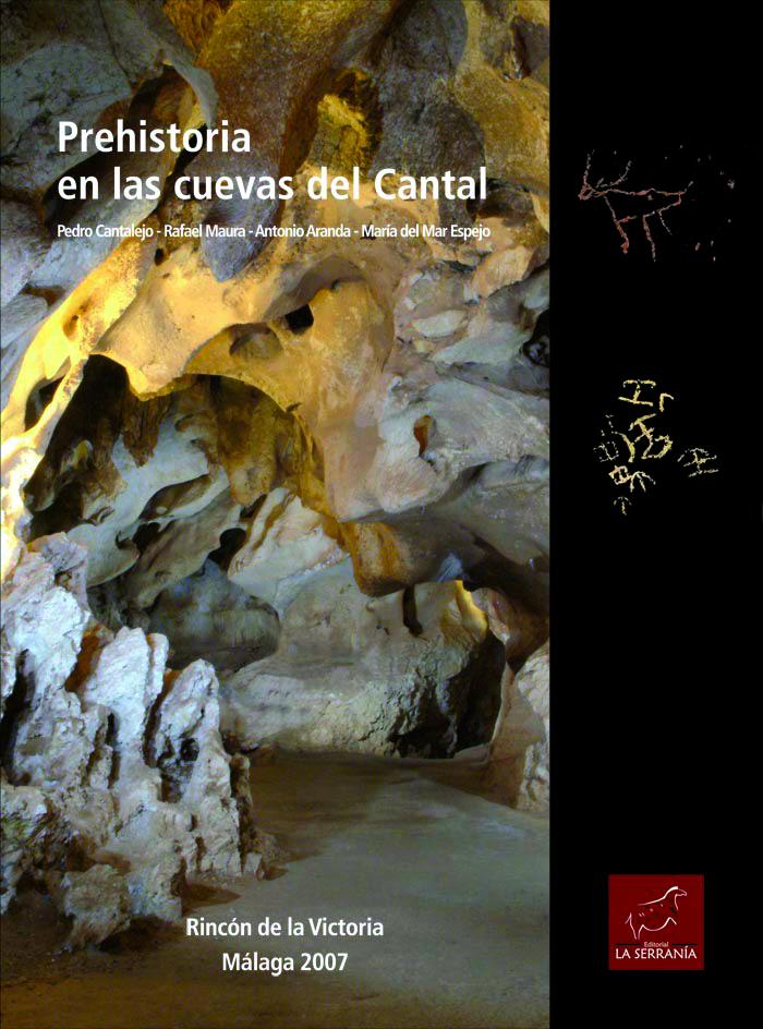 Portada de Prehistoria en las cuevas del Cantal