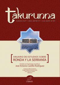 Takurunna nº 6-7. Anuario de Estudios sobre Ronda y la Serranía
