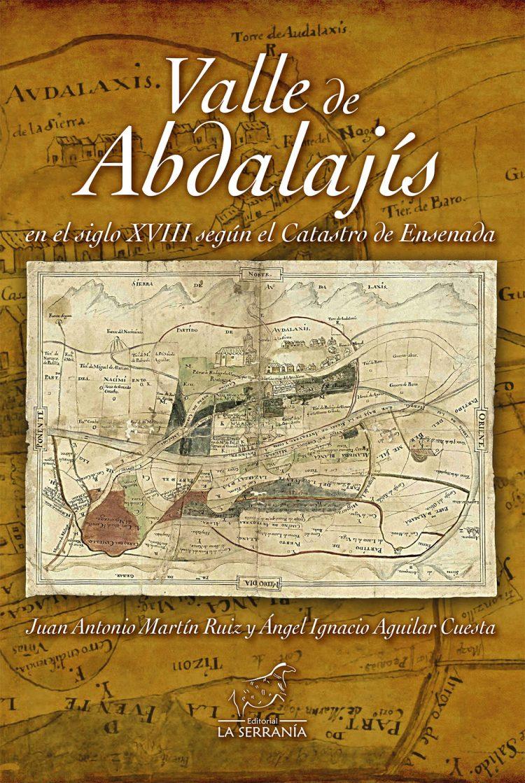 Portada de Valle de Abdalajís en el siglo XVIII según el Catastro de Ensenada