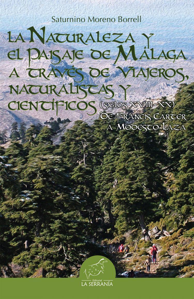 Portada de La Naturaleza y el Paisaje de Málaga a través de viajeros, naturalistas y científicos