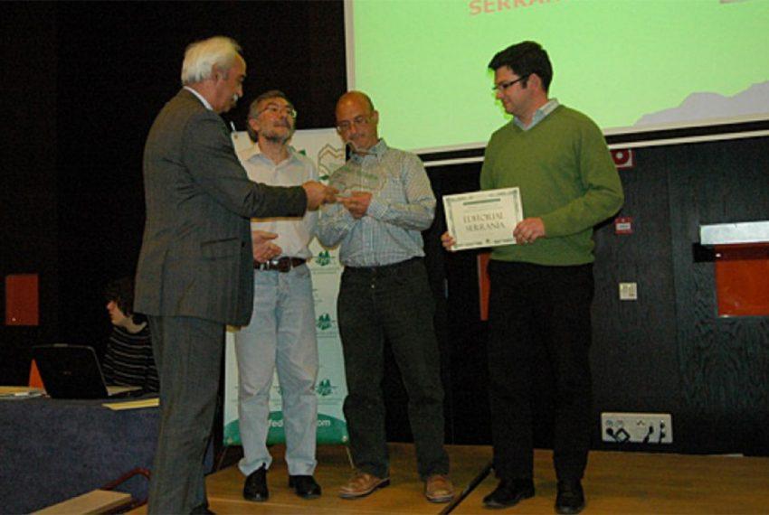 Editorial La Serranía recibe el Premio a la Mejor Publicación de Montaña