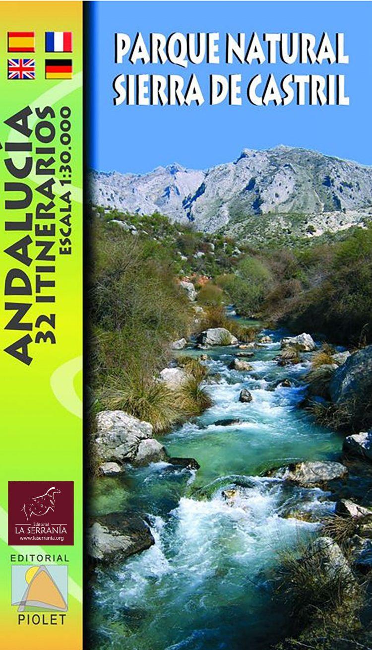 Portada de Mapa Parque Natural Sierra de Castril. 32 itinerarios. Escala 1:30.000
