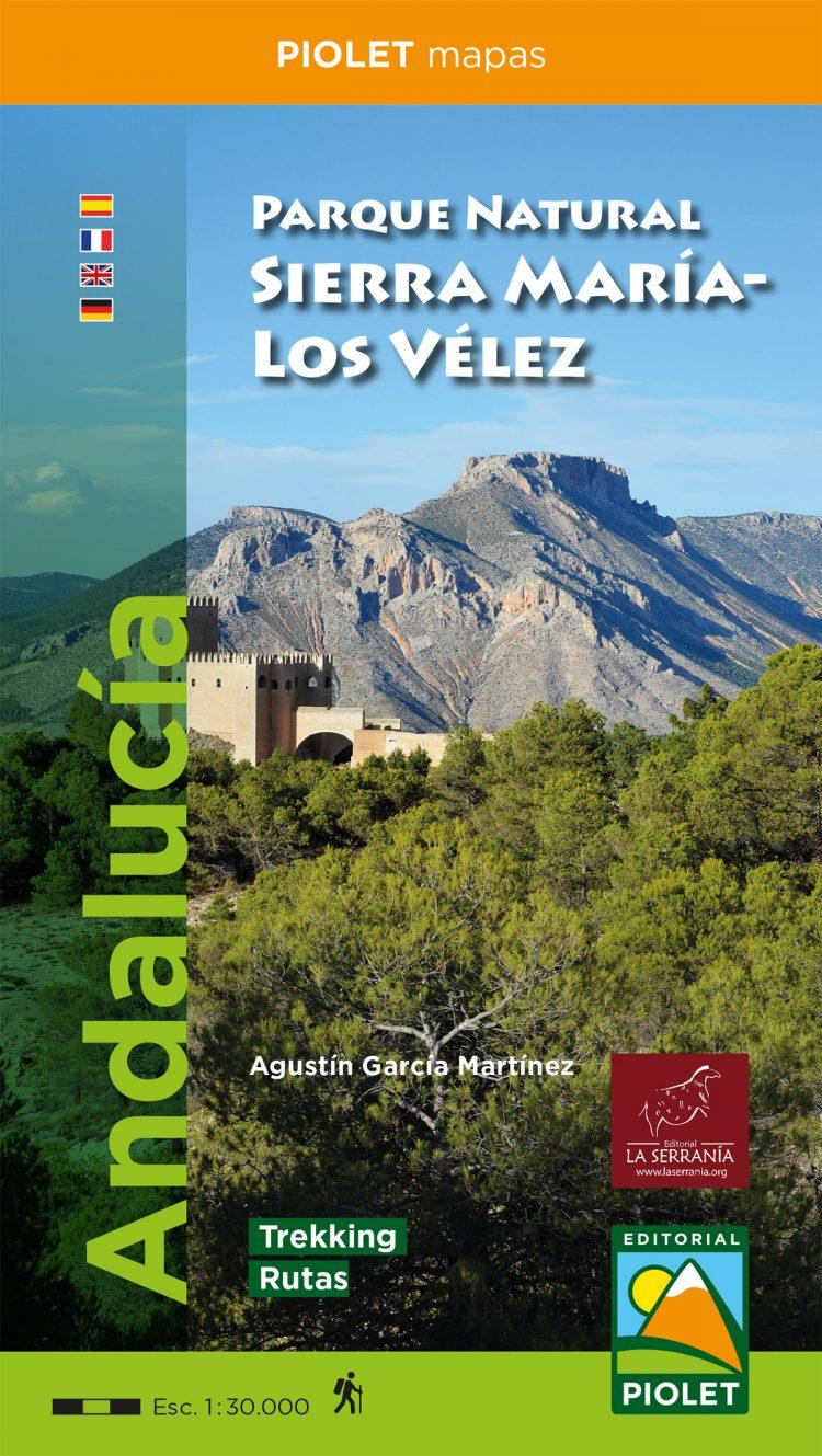 Portada de Mapa Parque Natural Sierra María-Los Vélez 1:30.000