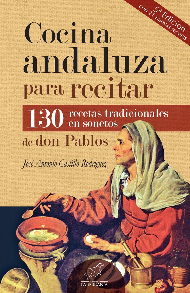 Portada de Cocina andaluza para recitar (5ª ed.)